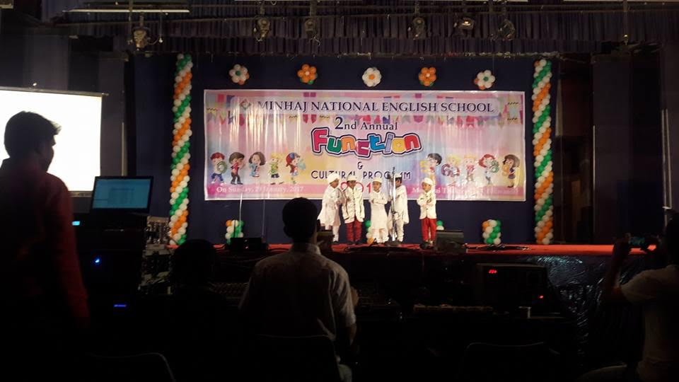 Minhaj National Public school second annual function held successfully