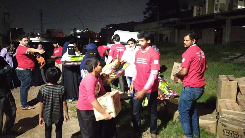 MIWF delivers relief goods for  flood-hit families of Hyderabad