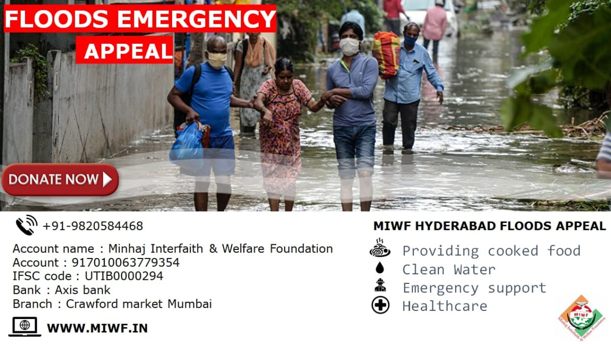 Hyderabad flood relief appeal